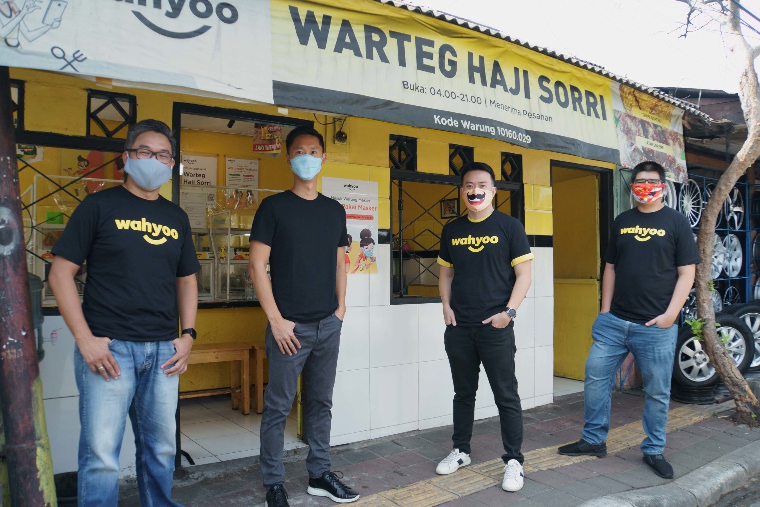 Wahyoo Raises USM Series A Led by Intudo to Digitise Small Eateries in Indonesia