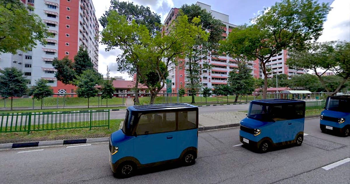 "S'Pore Startup QIQ to Launch Shared Electric ""Microcars"" Rental for Short Trips By 2021"